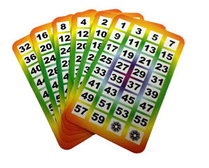 Age Cards Multicolor