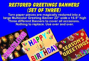 Restored Greeting Banners