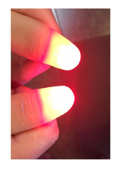 Light Up Thumb red